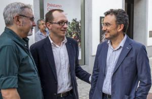Cuadri conversa con el director del Festival de Cine de Huelva.