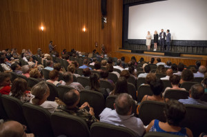 El público ha apoyado el estreno.