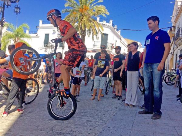 Valverde del Camino celebra el II Paseo por una Movilidad Sostenible