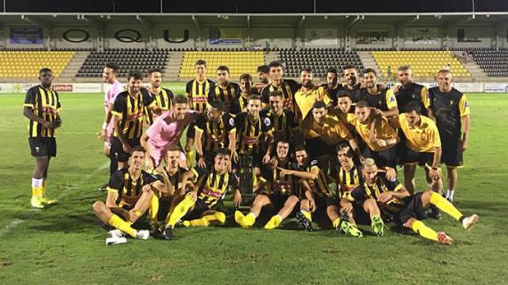 El San Roque se redime de sus pecados y logra un triunfo muy valioso ante el Atlético Espeleño (1-2)