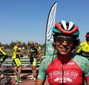 Soraya Senao fue la ganadora en la categoría Élite femenina. / Foto: Federación Andaluza de Ciclismo.