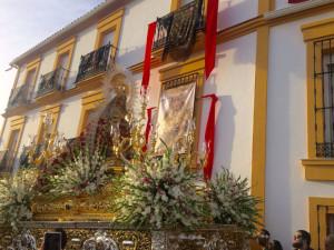 Procesión de la Virgen del Reposo.