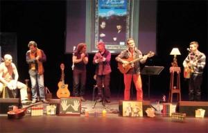 Capelo ha preparado un gran concierto para la presentación del disco.