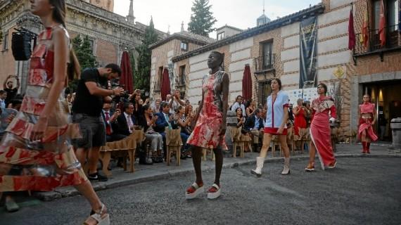 Doñana y la industria zapatera de Valverde se lucen en la semana de la moda de Madrid