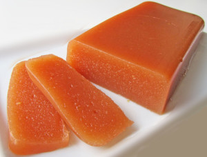El dulce membrillo es típico en las casas de Moguer. / Foto: haciendopostres.com