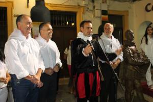 El evento homenajeó a Miguel de Cervantes.