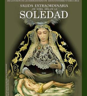 La salida extraordinaria de La Soledad el 14 de octubre en Moguer ya tiene cartel anunciador