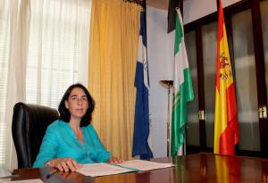 Isabel Valdayo, alcaldesa de Bollullos Par del Condado.