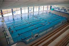 Piscina del Andrés Estrada, uno de los escenarios donde se desarrollará esta campaña de natación escolar.