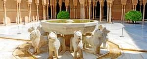 El Patio de los Leones es un lugar muy conocido de Granada, pero no es el único para visitar.