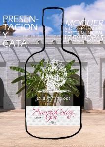 Cartel Oficial Presentación Puerto Colon Gin.