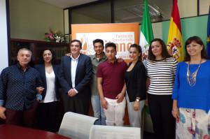 Un momento del acto de presentación de la campaña en Huelva.