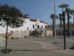 Plaza de la Sirena en El Rompido.