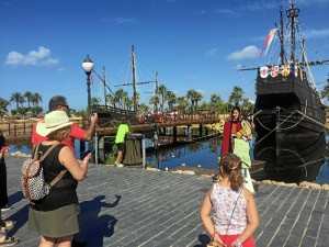 Puertas abiertas en Muelle de las Carabelas para celebrar el 525 Aniversario de la llegada de Colón a América.