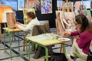 El Taller Municipal de Artes Plásticas y Visuales cuenta con unos 200 alumnos.