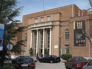 Sede del Instituto 'Rocasolano' de Madrid.