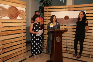 Presentación de la exposición de Isabel Verdier.