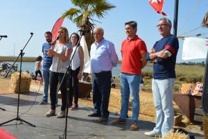 4.Rocío Cárdenas y su equipo de gobierno agradecieron la acogida de los sanjuaneros respecto a la programación del 12 de octubre.