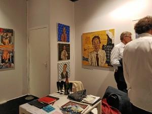 Obras del artista valverdeño en la 'Young International Art Fair 2017'.