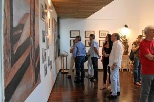 Su exposición individual en el Museo de Arte Contemporáneo de Fuenteheridos ha sido la más especial para esta joven artista.