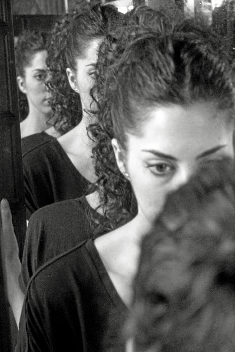 La artista onubense, Anabel Dorado Domínguez.