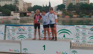 Ignacio García y Pablo Pérez, oro y bronce en la prueba en Sevilla.