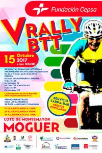 Cartel de la prueba ciclista que tendrá lugar en Moguer el día 15 de octubre.