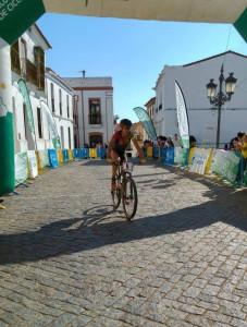 Gema Bárcenas fue la vencedora en la categoría femenina, / Foto: Federación Andaluza de Ciclismo.