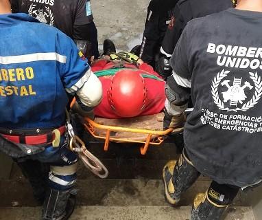 Bomberos de Huelva imparten un novedoso curso de 'Desescombro y Salvamento en estructuras colapsadas'