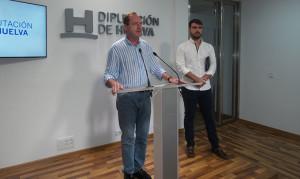 Un momento de la presentación del curso 'Gestión y dirección de entidades y asociaciones deportivas' en la Diputación.