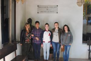 patio de la Real Academia Sevillana de Buenas Letras, antigua Casa Pinelo.