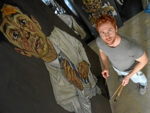 El artista valverdeño Diego Cerero Molina.
