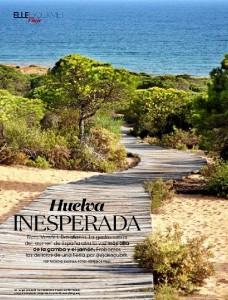 La revista 'Elle' publica un reportaje dedicado a Huelva.
