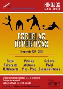 ESCUELAS DEPORTIVAS 17-18