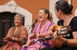 Actuación en el marco del Festival Flamenco.