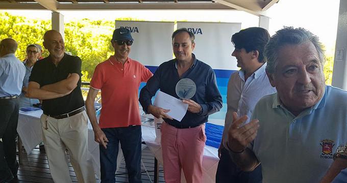 Gonzalo Martínez y Luis Felipe Melo se imponen en la prueba inaugural del Circuito Solidario de Andalucía de golf