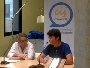 Alejandro Martín Audén durante la presentación de  'Animafortis: El Secreto de la Inmortalidad' en Almonte.