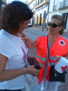 Cruz Roja celebra el Día de la Banderita.