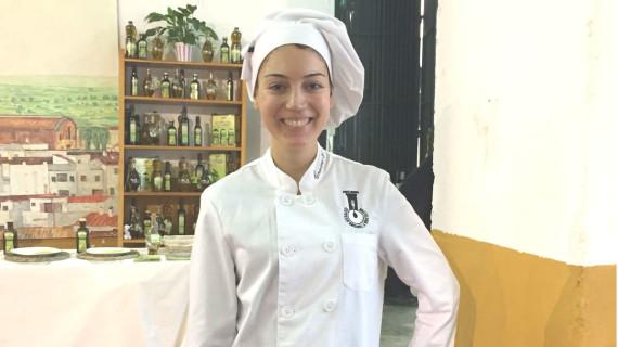 La puntaumbrieña Cristina González se alza con el premio del I Concurso Provincial de Cocina Joven de Trigueros