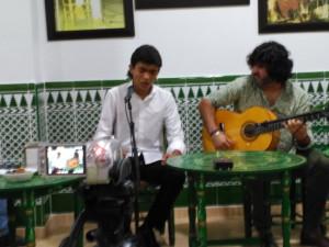 Actuación de Pepe 'El Boleco'.