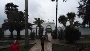 """Cementerio Privado de El Pilar (La Palma del Cdo), donde está enterrado Ignacio de Cepeda y Alcalde, conocido como """"El cementerio de los Cepeda""""."""