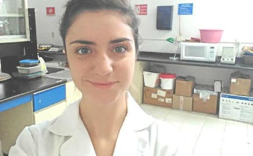 La onubense Carmen Márquez, una apasionada de la Biología que disfruta de una beca de investigación en México