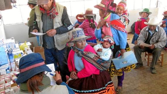 Madre Coraje ayuda a 1.243 familias empobrecidas a superar las situaciones de emergencias por el cambio climático en Perú