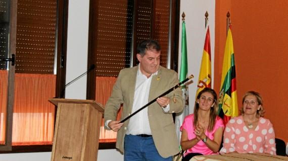 Gilberto Domínguez toma posesión como nuevo alcalde de Jabugo