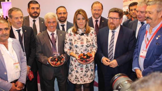 El sector de frutos rojos de Huelva presente en IX Fruit Attraction