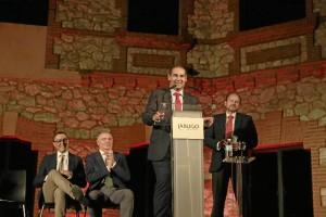 Palabras del ex alcalde de Jabugo, José Luis Ramos, elegido presidente del Puerto de Huelva.