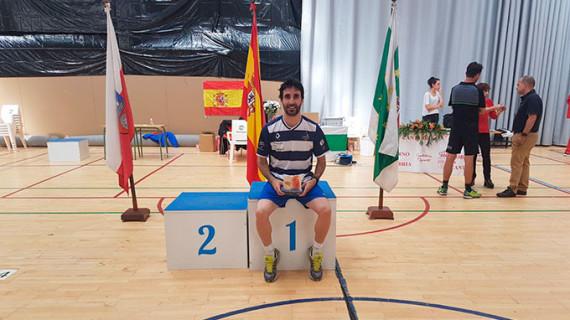 Pablo Abián cierra un mes sin bajarse del podio tras proclamarse subcampeón en el Open de Irlanda de bádminton
