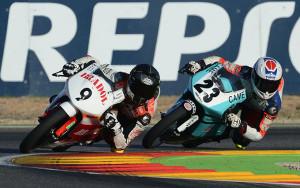tercero en la segunda carrera disputada en el Circuito de Motorland Aragón.