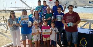 Ganadores de la segunda tanda de los Concursos de Pesca 'Virgen del Pilar'.