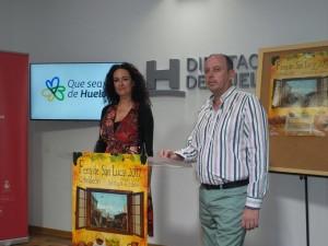 La alcaldesa de Gibraleón ha presentado la programación de la Feria.